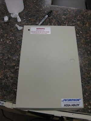 Assa Abloy Securitron 1 AMP Power Supply Wall Panel Cabinet 24VDC-1A BPS-24-1