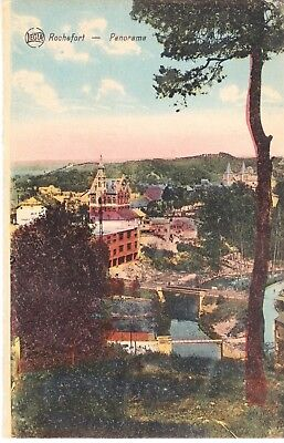 Rochefort   Panorama  Carte Postale Ancienne