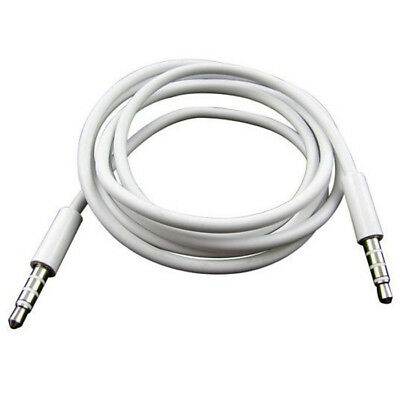 4 Pole 1m 3.5mm Male Record Car Aux Audio Cord Headphone Connect Cable News