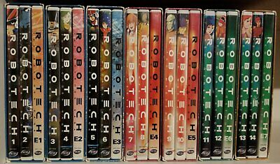 ROBOTECH Complete Legacy Collection (1 - 7) 1 2 3 4 5 6 7 DVD LOT BOX SET