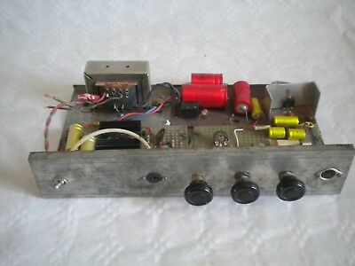 Vintage amplifier home made 1960/70s Mono
