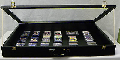Trade Show Display case Black/P302B 24X36X4
