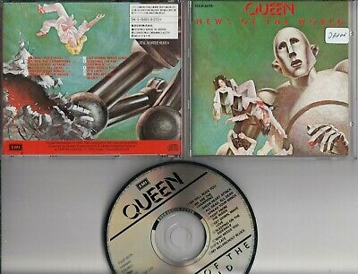 QUEEN News Of The World 1993 REMASTER JAPAN CD TOCP-8276