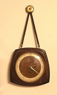 "Wall hanging vintage Germany clock ""Haid"" 1960s"