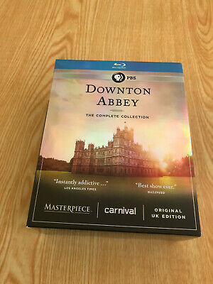 Downton Abbey The Complete Collection Blu-Ray 21 Disc Set Seasons 1-6