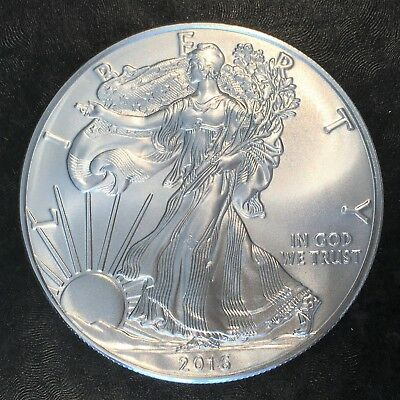 2016 Uncirculated American Silver Eagle US Mint Issue 1oz Pure Silver #H239