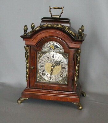 vintage mantel Clock moonphase WARMINK John Thomas London