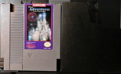 ADVENTURE IN MAGIC KINGDOM Vintage NES Game&manual-Nintendo Entertainment System