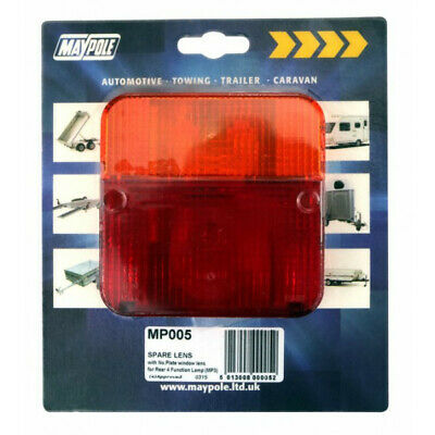 Rear Lamp Square Lens Only 003 Maypole 005