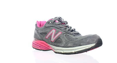 quality design 9adf9 32d80 NEW BALANCE WOMENS W990gp4 Grey/Pink Running Shoes Size 9.5 (215639)