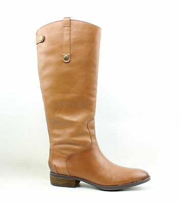 dc108f32900d Sam Edelman Womens Penny Whiskey Leather Riding Boots Size 10 (217901)