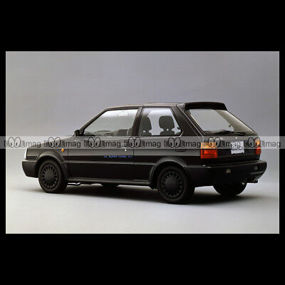 #pha.012081 Photo NISSAN MARCH SUPER TURBO 1989-1991 (MICRA) Car Auto