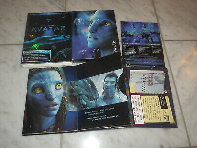 Avatar Blu-ray Disc, 2010, 3-Disc Set, Extended Collectors Edition James Cameron