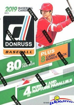 2019 Donruss Baseball HUGE EXCLUSIVE Factory Sealed 88 Card Blaster Box! HOT!