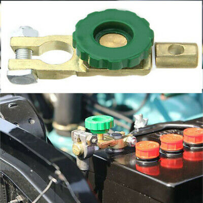 Quick Cut-off Disconnect Master Kill Shut Switch Car Auto Battery Link Terminal