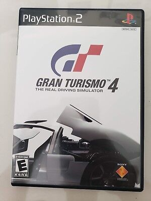 Gt Gran Turismo 4 Driving Simulator Ps2 Playstation 2 Video Game 2004 Booklet