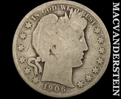 1906 Barber Half Dollar-Scarce Better Date!!  #d9017