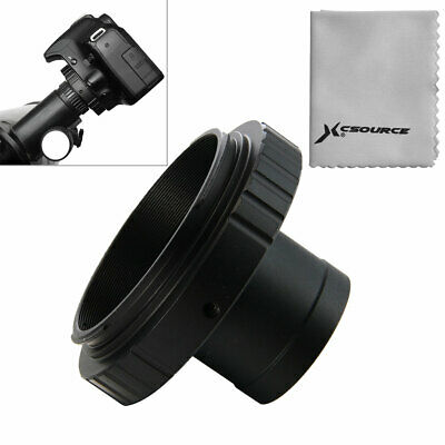 Camera Lens Adapter T-Ring for Canon DSLR SLR + 1.25 inch Telescope Mount DC615