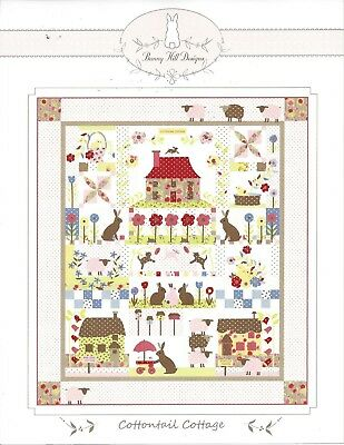 Cottontail Cottage Quilt Pattern by Bunny Hill Designs