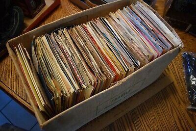 "Great Lot of (100) 45's Records Jukebox 7"" 45 RPM vinyl records Juke Box"