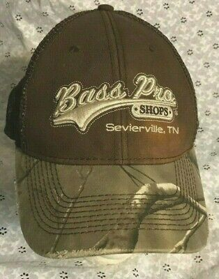 38fe1494f82da authentic BASS PRO SHOPS SEVIERVILLE TN BALL CAP hat TENNESSEE CAMOUFLAGE  camo