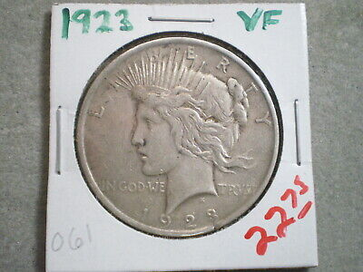 1923 Peace Silver Dollar/ Top Bargain