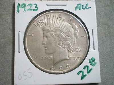 1923 Peace Silver Dollar/ Super Choice
