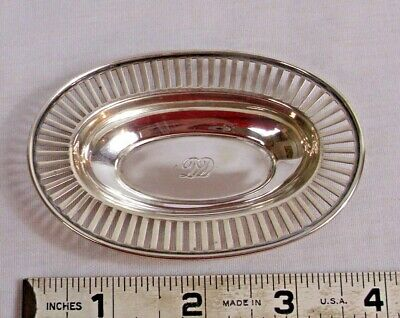 Tiffany & Co. Sterling Silver Die Cut Small Trinket Or Ring Dish