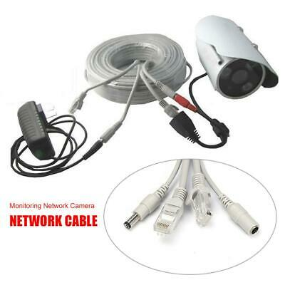 20/30/40/50M Monitor Network Camera Integrated Video Power Security Camera Cable