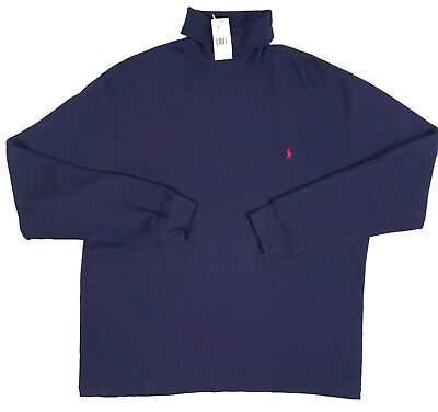 NEW Polo Ralph Lauren Turtleneck Shirt!  3 Colors   Heavy Weight   *Run Large*