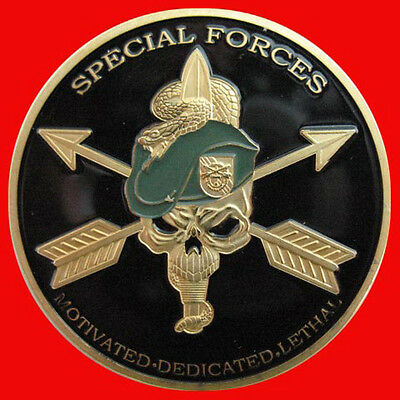 United States Army Special Forces Challenge Coin 73 399