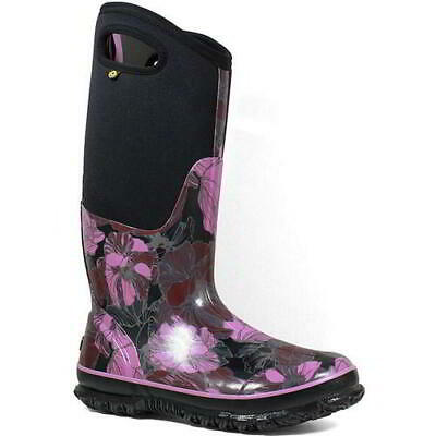Bogs Classic Tall Womens Ladies Wellingtons Neoprene Wellies Boots Size 4-7