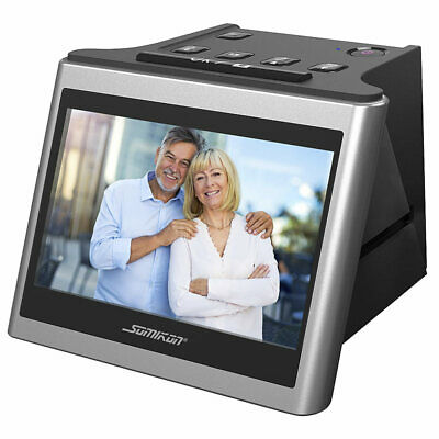 "Somikon Stand-Alone-Dia-, Negativ- & Super-8-Scanner, 12,5-cm-Farbdisplay (5"")"