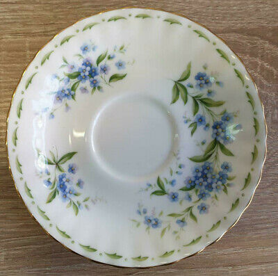 Royal Albert Flower of the Month Forget-Me-Not Untertasse