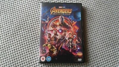 Avengers Infinity War - Marvel 2018 DVD Region 2