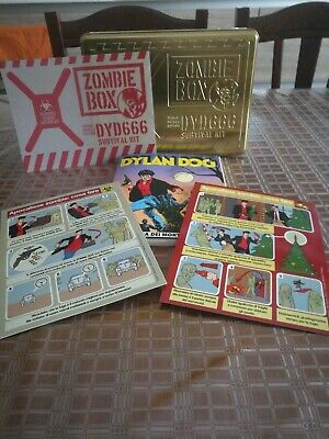 Dylan Dog Zombie Box Gold Blisterato