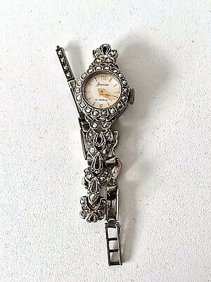 Vintage Sterling Silver MARCASITE 1964 Ladies Wrist Watch - Spare & Repairs