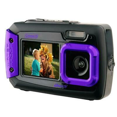 Coleman Duo2 2V9WP Rugged Dual Screen Waterproof Camera #2V9WP-P