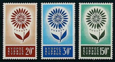 [H17420] Cyprus 1964 EUROPA Cept. Good set of stamps very fine MNH VALUE 70$