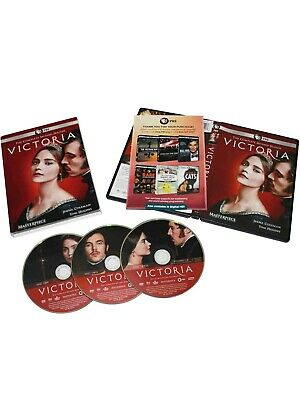 Victoria Season 2 (DVD,3-Disc Set)Brand New Sealed