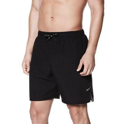 d955b87e21 New Mens Nike Volley Breaker Shorts 9 Inch Black Swimming Trunks Size Xl  Pr5035