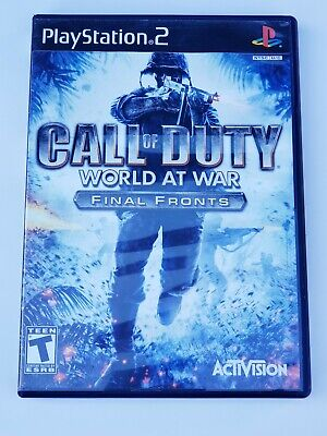 Call of Duty: World at War -- Final Fronts (Sony PlayStation 2, 2008)