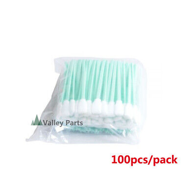 100pcs Printhead Cleaning Swabs for Epson/Roland/Mimaki/Mutoh Inkjet Printers