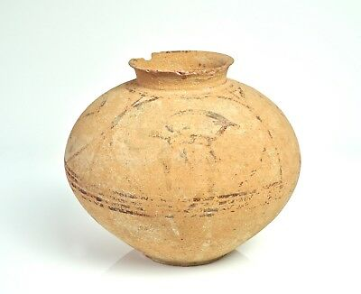 Rare Large Storage Jar with Ibex - Indus Valley Civilisation