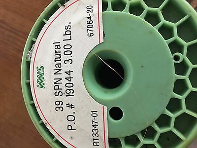 MAGNET WIRE 39 AWG NATURAL . 3.4 lbs