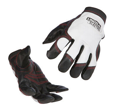 Lincoln Full Leather Steelworker Welding Gloves K2977 Size 2XL