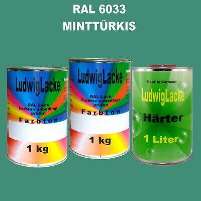 Ral 6033 Menthe - Turquoise 3 Kg
