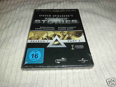 Steven Spielberg`s Amazing Stories Season 1.2 (DVD) OVP&NEU