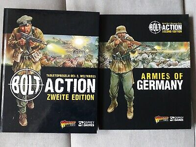 Warlord games bolt action deutsches Regelbuch 2. Edition + Armies of Germany