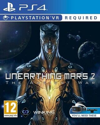 Unearthing Mars 2 The Ancient War VR PSVR PS4 * NEW SEALED PAL *